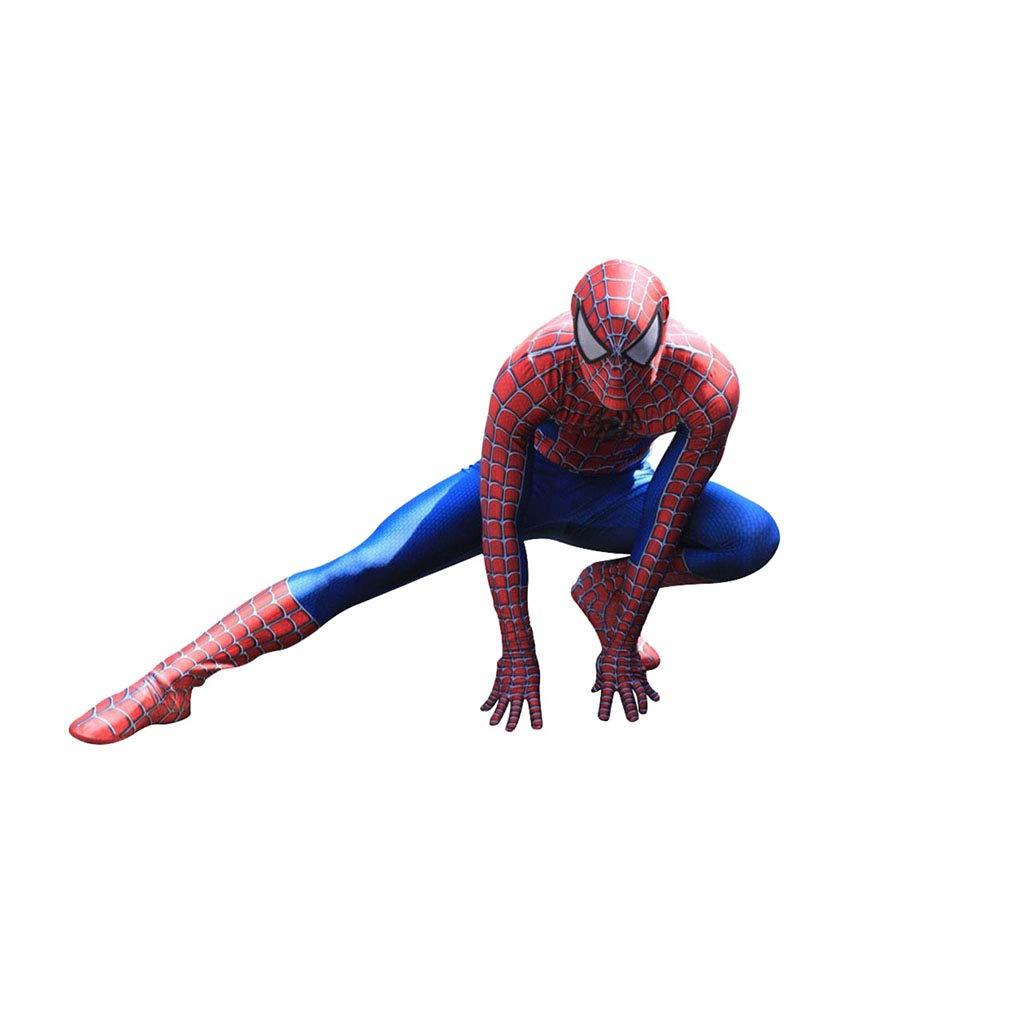 XXW Nuovo Spiderman Costume 3D Stampato per Adulti Lycra Costume Spiderman per Halloween della Mascotte di Cosplay
