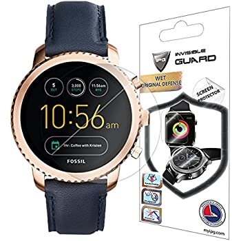 Amazon.com: Para Fossil Q Tailor SmartWatch Guardia ...