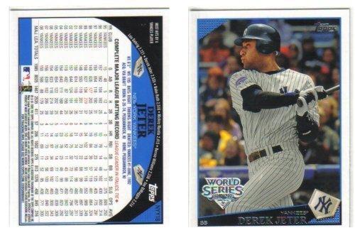 2009 Topps Derek Jeter World Series Silver Foil Stamp Baseball Card New York Yankees (Derek Silver)