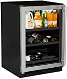 Marvel ML24BCG1LS Beverage Center with Door Left Side Hinge, 24'', Stainless Steel