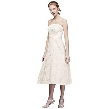 David's Bridal Dresses Tea Length