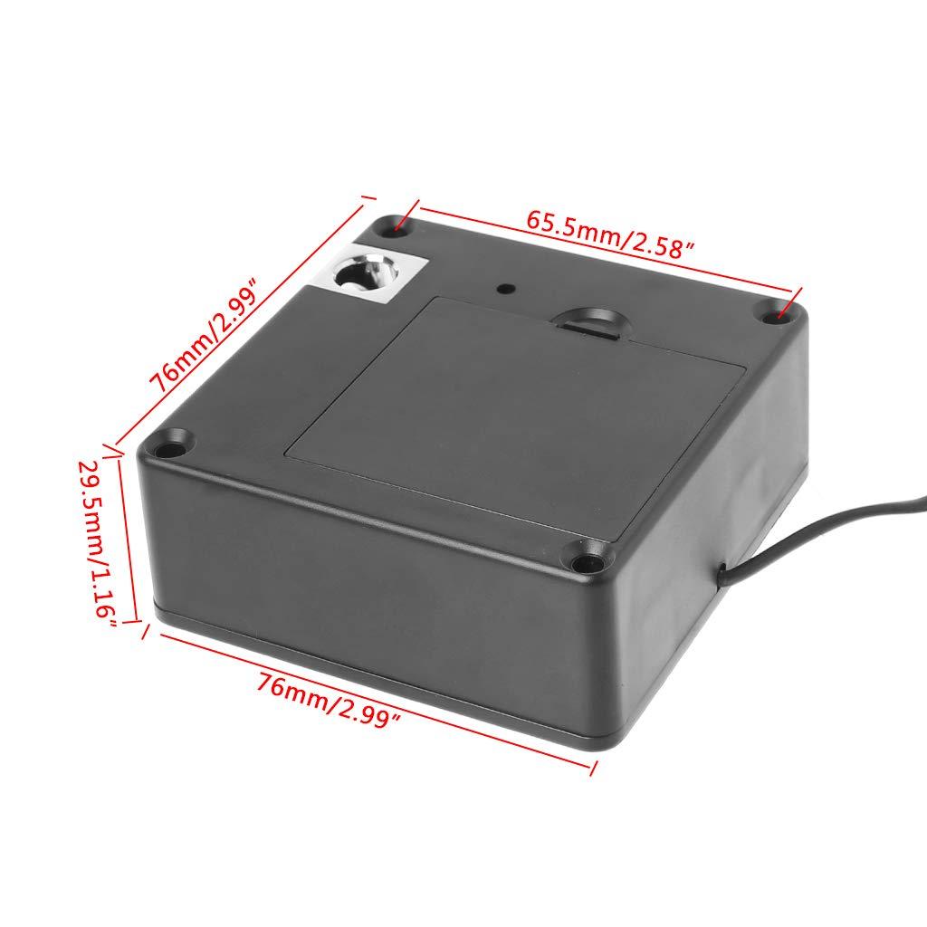YUYUE21 1 Satz Elektronische Sensor-Schubladenverriegelung Einzelschrank-T/ürsensor-Schlie/ßfach-3-Karte