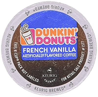 Dunkin Donuts K-cups French Vanilla - 48 Count