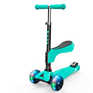 Amazon.com: Agarres para scooter verde, patinetes para niños ...