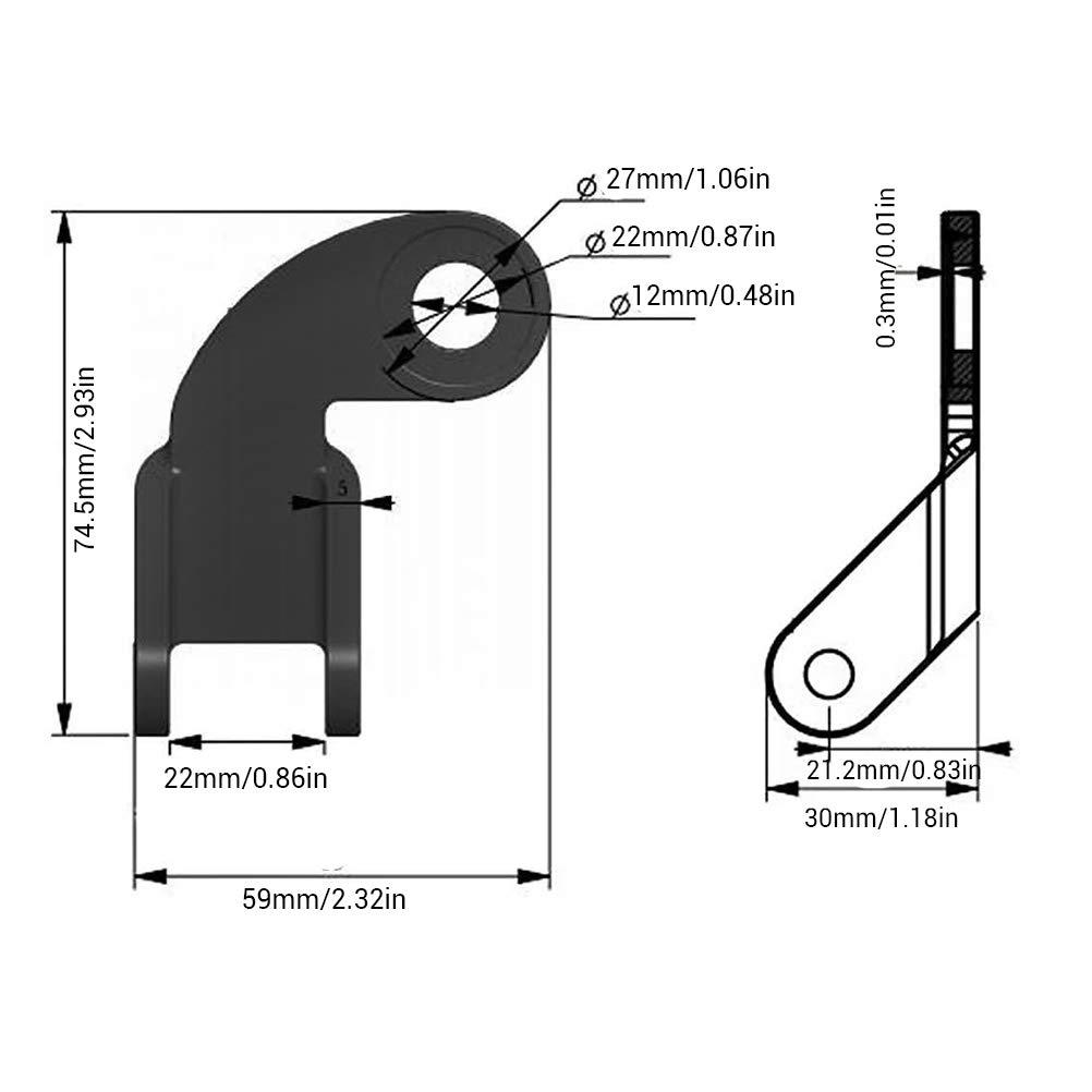 Rimorchio gonfiabile dellanimale domestico della ruota gomito accessorio del gancio accessorio della frizione del rimorchio della bici del rimorchio della bicicletta della struttura per i bambini