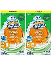 Scrubbing Bubbles Fresh Brush Refill 10-Count,2 Pack