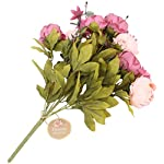 Duovlo-Fake-Flowers-Vintage-Artificial-Peony-Silk-Flowers-Wedding-Home-DecorationPack-of-1-New-Sweetened-Bean
