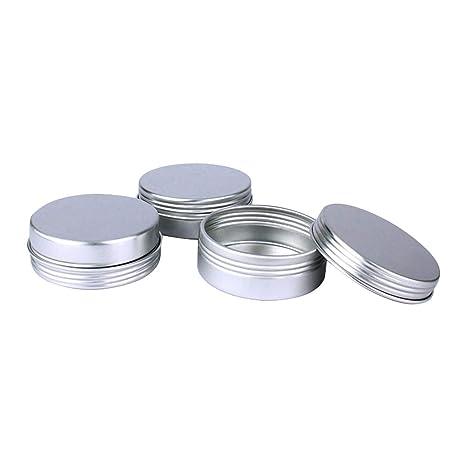 Toyvian 12 Botes De Aluminio Para Decoración De Uñas