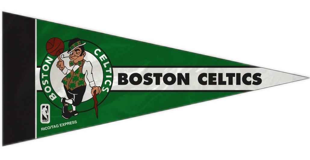 Rico NBA Celtics 8 Pc Mini Pennant Pack Sports Fan Home Decor, Multicolor, One Size