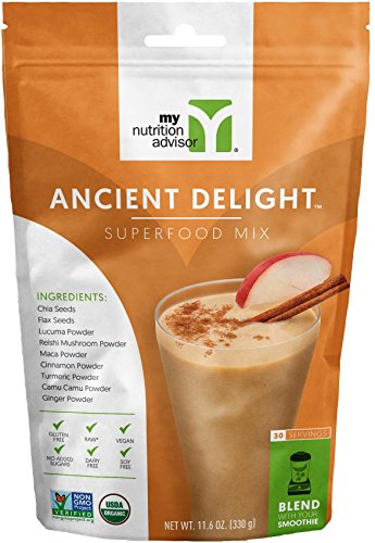 Ancient Delight Superfood Smoothie Mix - 30 Servings
