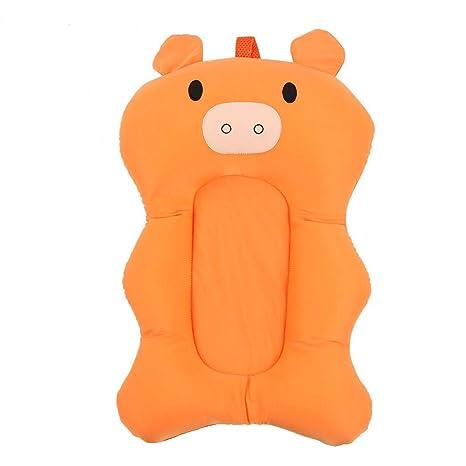 Alfombra de baño para bebé Forma de cerdo lindo Asiento de bañera ...