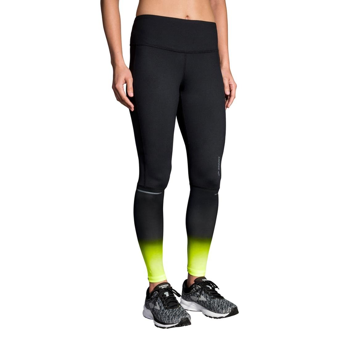 f0133899f5187 Amazon.com: Brooks Womens Nightlife Greenlight Tights: Clothing