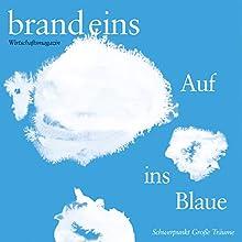 Vier Sterne warten aufs Wasser (brand eins: Große Träume) Hörbuch von Marcus Müller Gesprochen von: Anna Doubek, Michael Bideller