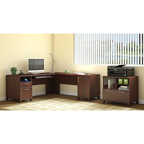 Office Set Printer Stand - Achieve L Shaped Desk with Printer Stand File Cabinet