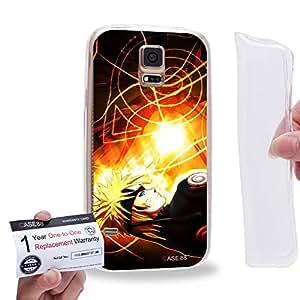 Case88 [Samsung Galaxy S5] Gel TPU Carcasa/Funda & Tarjeta de garantía - Naruto Uzumaki 0020