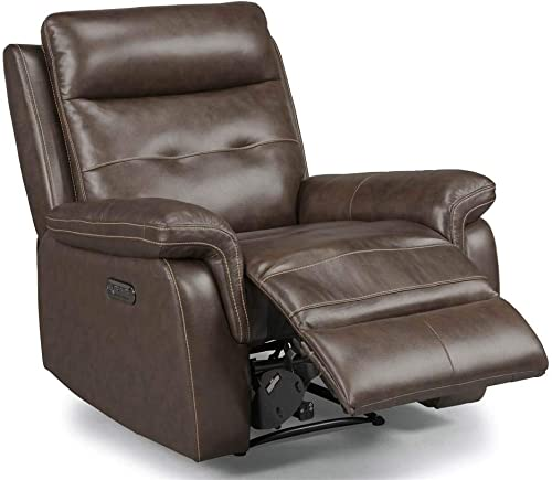 Homestyles by Flexsteel Lux Leather Power Motion Recliner