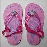 Disney Frozen Elsa Anna Flip Flops Flip Flops Sea from 22to 27–d09963/2Pink Red Beams