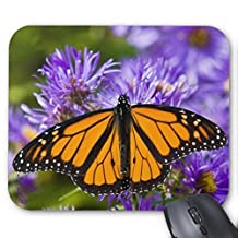 CottonHouse Butterfly Pattern 14 Mouse Pad