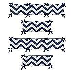 Sweet-Jojo-Designs-Navy-Blue-and-White-Chevron-Collection-Crib-Bumper