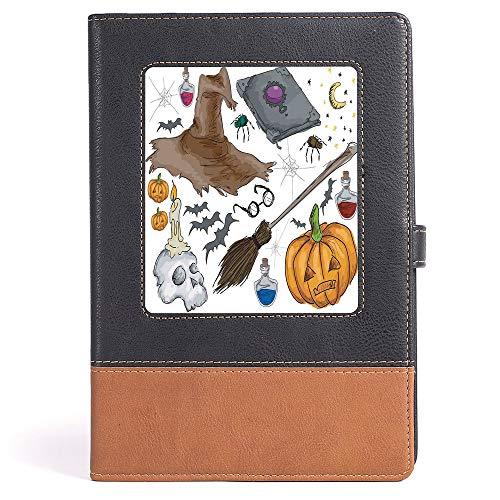 Casebound Hardcover Notebook - Halloween Decorations - Magic