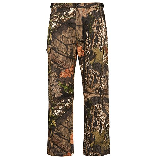 Scent Free Hunting Clothes - Scent Blocker Men's Cotton 6 Pocket Pant (Mossy Oak Country, X-Large)