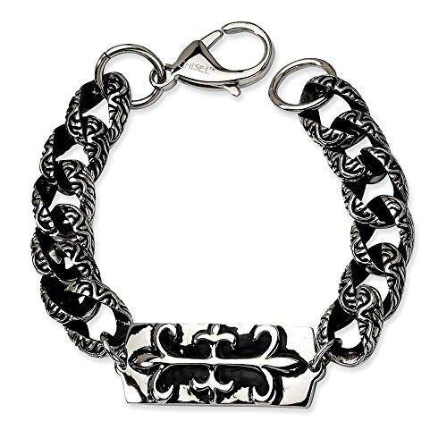 Bracelet style ancien-Gothique-Acier inoxydable - 22 cm-JewelryWeb