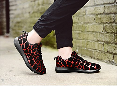 Leopard with Colorful Athletic Sneakers Auspicious Red beginning Fashion Winter Print Shoes 0w8pY4