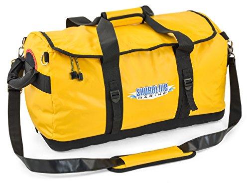 shoreline-marine-water-repellent-pvc-duffel-bag-yellow