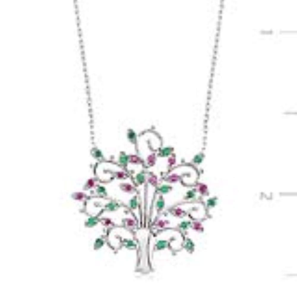 Couple KOKANA Life of Tree Necklaces for Women and Girl Girlfriend Gift Anniversary Birthday