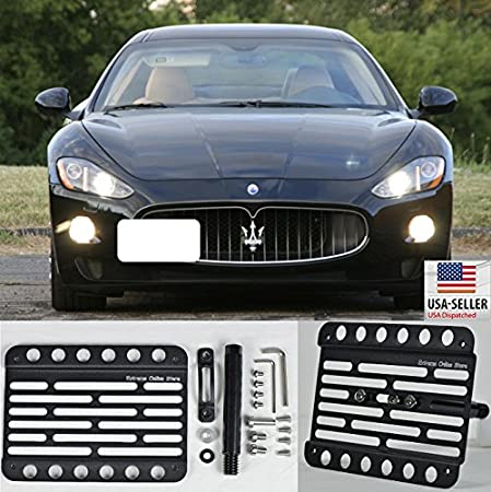 Maserati front license plate