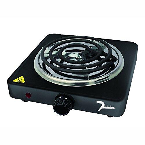 Dominion D1001 1000-watt Single Coil Burner, Black