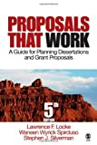 img - for Proposals That Work: A Guide for Planning Dissertations and Grant Proposals book / textbook / text book