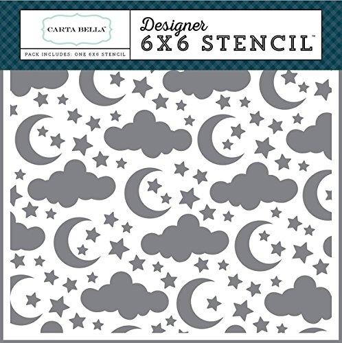 (Carta Bella Paper Company Sleep Tight Stencil )