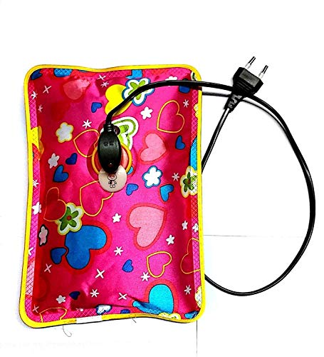 AFERELLE heating bag, hot water bags for pain relief, heating bag electric, Heating Pad-Heat Pouch Hot Water Bottle Bag, Electric Hot Water Bag, heating pad with for pain relief(Multi Color)