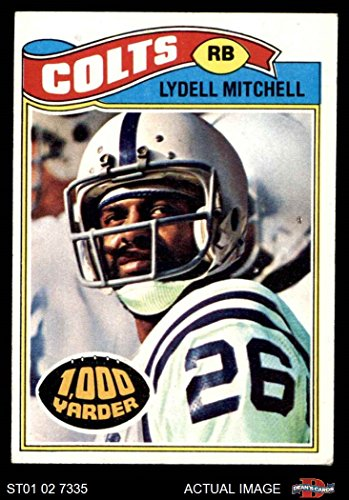 1977 Topps # 370 Lydell Mitchell Baltimore Colts (Football Card) Dean's Cards 4 - VG/EX Colts (1977 Topps Card Colts)