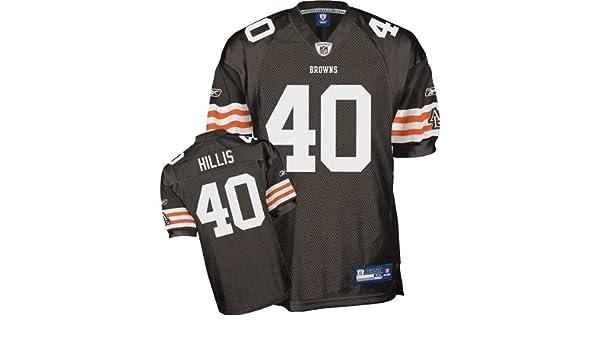 d232185d Amazon.com : Reebok Cleveland Browns Peyton Hillis Authentic Jersey ...