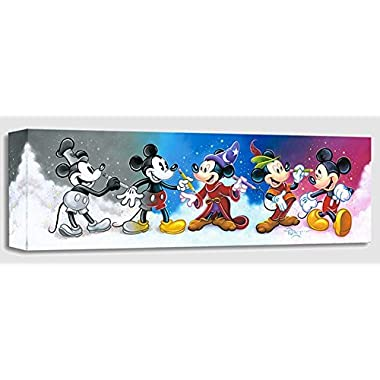 Mickey's Creative Journey by Tim Rogerson - Treasures on Canvas - Disney Fine Art Featuring Mickey Mouse