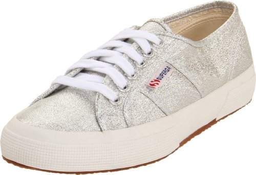 SUPERGA WOMEN'S 2750 LAMEW, SILVER 36 (US Women's 6) Medium