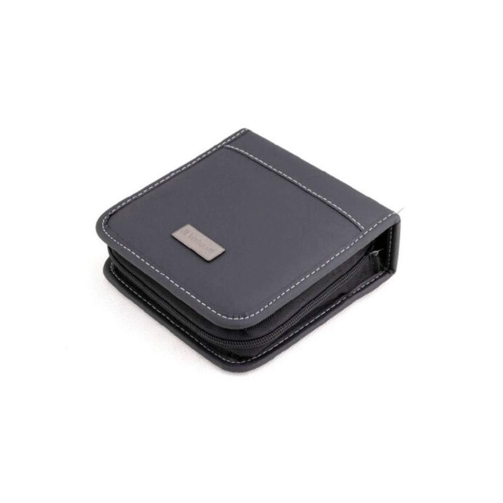 HUIJUNWENTI 40 Pieces, Car CD DVD Package, CD Holder, CD Storage Bag Music CD Case, CD Package (Color : Black) by HUIJUNWENTI