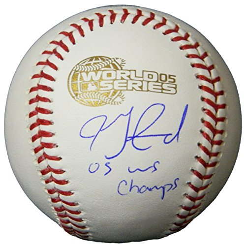 - Jon Garland Signed Rawlings Official 2005 World Series Baseball w/05 WS Champs