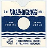 Reel Sleeves for View-Master Reels - USA - Wavy Line Style - Pack of 25 - NEW