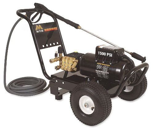 1500 psi 2 gpm Cold Water Electric Pressure Washer