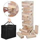 Toppling Tower Giant Version Outdoor Game Toys for Home Party All Ages Unisex