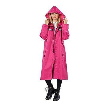 PURSUIT ADULTS WATERPROOF PONCHO CAPE RAIN MAC WALKING FISHING CAMPING **PINK**