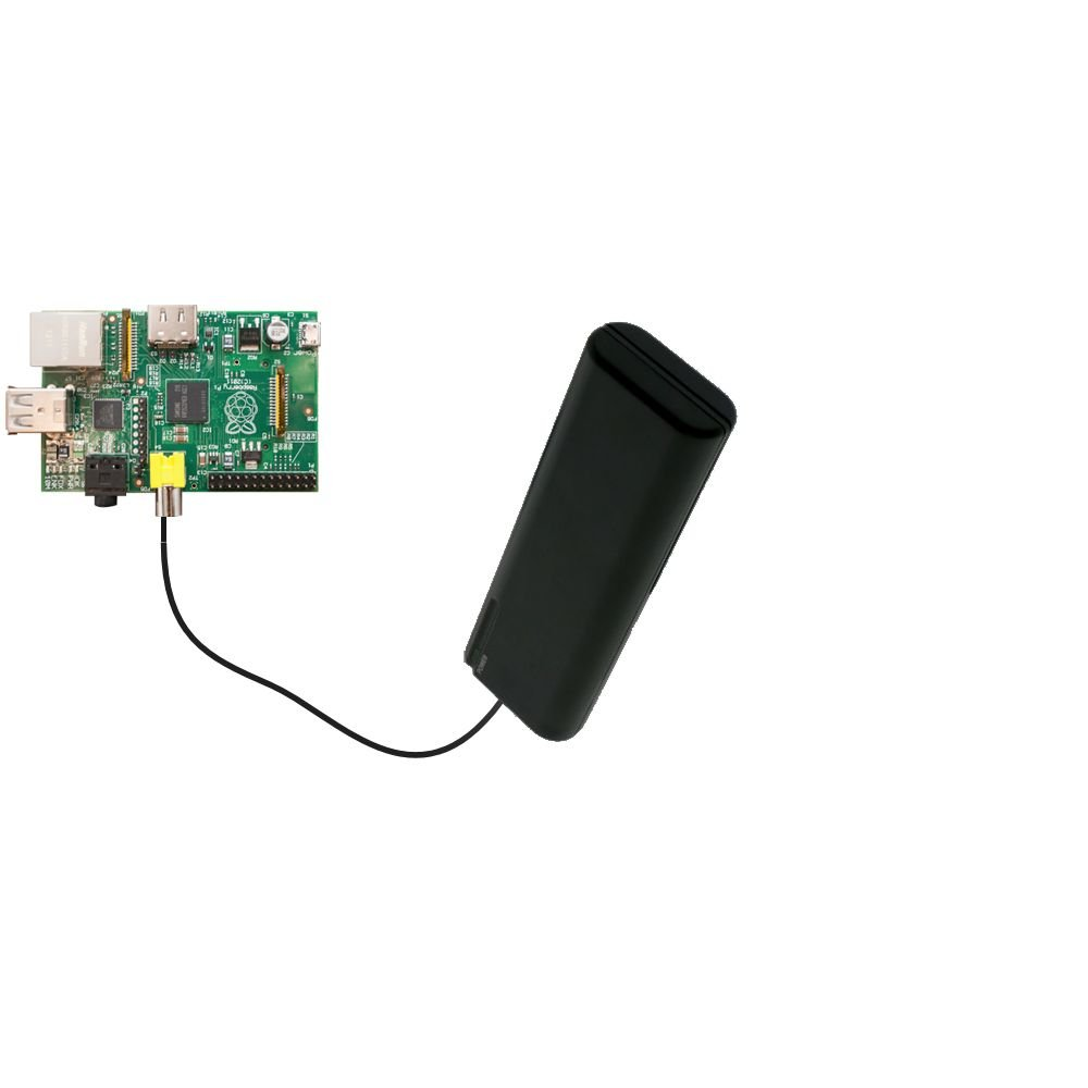 Gomadic Advanced Raspberry Pi Board AA Battery Pack Charge Kit – Portable power built with upgradeable TipExchange Technology