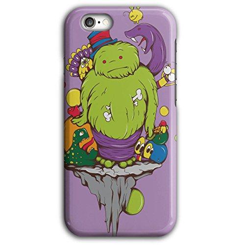 Phantom Rising Animated Costumes (Animated Monster Zombie Crazy Comic iPhone 6 Plus / 6S Plus Case | Wellcoda)