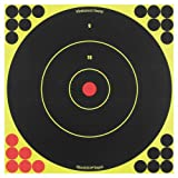 Birchwood Casey Shoot-N-C 12-Inch Bull's-Eye Target, 12 Targets