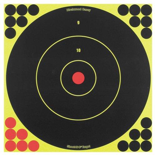 Birchwood Casey Shoot-N-C 12-Inch Bull's-Eye Target, 12 - 12 C N Shoot Target