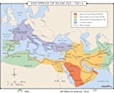 The Spread of Islam (World History Wall Maps)