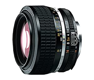 Nikon Nikkor 50mm f/1.2 - Objetivo para Nikon (distancia focal fija 50mm, apertura f/1.2, diámetro: 69mm) color negro